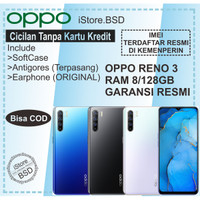 OPPO RENO 3 - Ram 8/128GB - Garansi Resmi OPPO 1 Tahun