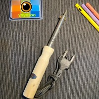 solder kayu 40 watt / plastic 40 watt solder listrik soldering iron
