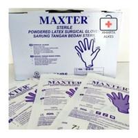 Sarung Tangan Steril MAXTER Gloves 1 pasang Size 7,5