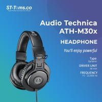 Audio Technica ATH-M30x Professional Monitoring Headphones