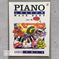 Buku Piano Lesson Made Easy Level 1-3