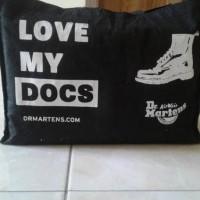 Termurah Sepatu Dr. Martens 1460 W Black Original / Docmart / Doc