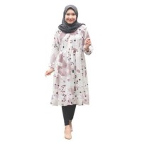 Alfiza_Store / Clarise Tunik / ClarisTunik / Floral Tunik / Tunik