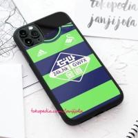 Casing iPhone 11 X Xs 8 7 6 6s Pro Max Plus Swansea City Green Jersey