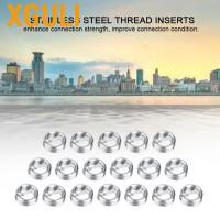 Xguli 100Pcs M2 Sekrup Kawat Spiral Bahan Stainless Steel 304