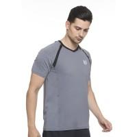 Jual Enzoro - Pakaian Olahraga Pria Rapid Running T-Shirt - Antrachite