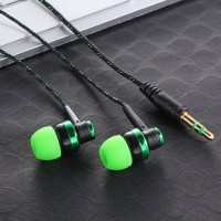 BOLONI Sport Subwoofer Wired Stereo Noise Isolating Earphone