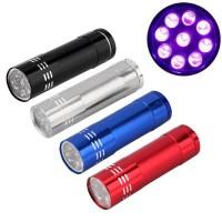 Lampu 9 LED Ultra Terang dengan Konsumsi Rendah Aluminium Sinar UV
