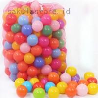 70mm Bola Plastik Lembut untuk Mandi Bola