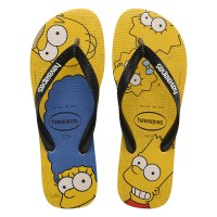 Havaianas Simpsons Yellow Banana / Black - 43-44