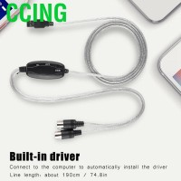 CCing (Up to 50% Off)Qianmei MIDI USB Cable Converter Interface