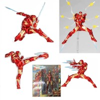 Action Figure Model Amazing yamaguchi Revoltech No 013 Iron Man mk37