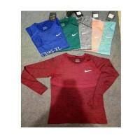Jual Kaos Pakaian Olahraga Gym Sport Nike Lengan Panjang #570 Impor
