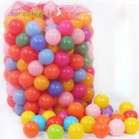 10Pcs 50mm Bola Plastik Lembut untuk Mandi Bola