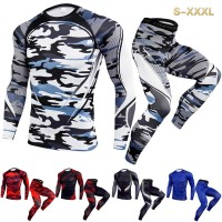 Kaos T-Shirt Compression Pria untuk Olahraga / Jogging / Fitness