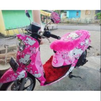 Decal sticker dekal stiker yamaha Fino hello kitty full body Murah