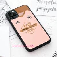 Casing case iPhone 11 X Xs 8 7 6 6s Pro Max Plus Swansea City Jersey L
