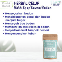 sauna badan bath spa tubuh rendaman herbal celup