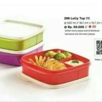 Ready Stock Tupperware Lolly tup kotak makan lunch box