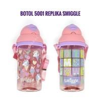Botol minum anak B5001 motif smiggle smigle smigel bpa free