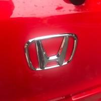 Emblem Belakang bagasi mobil lambang honda all new brio satya RS 2019