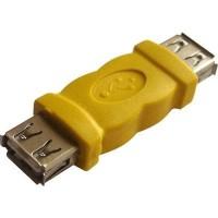 Converter USB Female to Female Gender Changer Adapter