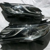 headlamp lampu depan mitshubisi all new pajero sport dakar led asli