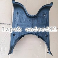 cover bordes pijakan kaki dek injekan scoopy fi new 2018 asli original