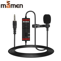 Mamen Clip-On Microphone Smartphone and DLSR