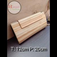 Dompet Wanita Bambu Handmade K01