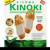 KOYO KIYOME KINOKI CLEANSING DETOX FOOT PADS (CONTAINS 10 PADS)