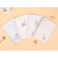 Warm Afternoon Ruled Notebook B5 / Buku Tulis B5 / Buku Catatan B5