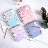 Time Waits For No One Spiral Ruled Notebook Mini / Buku Catatan