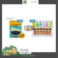 Paket 1pcs Masker Maskit & 1pcs Hand Sanitizer
