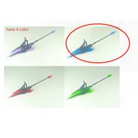 Heavy Weapon Unit 12 Gun Tombak Color Biru Blue Clear Blade Lance 1/12