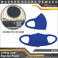 Masker Scuba Premium Masker Non Medis Desain Khusus