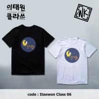 Kaos T-Shirt Drakor Drama Korea Itaewon Class Danbam Black/White