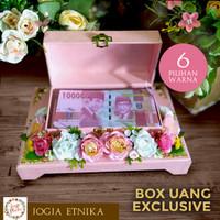 Kotak Uang Wedding / Box Uang / Box Mahar Pernikahan
