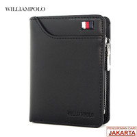 TOKOKOE | Dompet Pria | Model Lipat | William Polo | WP1 | Original - Hitam
