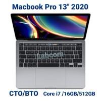 """Macbook Pro 13"""" 2020 CTO/BTO Core i7/16GB/512GB"""
