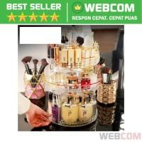 Rak Organizer Make Up Kosmetik 360 Degree Rotating Kualitas Terbaik