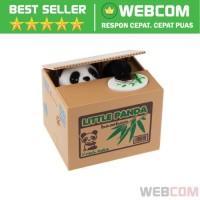 Celengan Panda Steal Money Model Little Panda Piggy Bank Lucu Unik