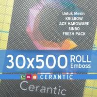 Plastik Vacuum Emboss ROLL 30x500