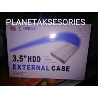 Casing HDD 3.5 sata Eksternal External 3 5 inch case M-Tech Hitam