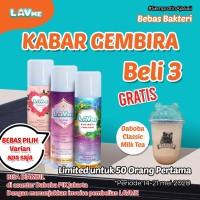 Lavme Anti Bacterial Spray - 3pcs 250ml Free Daboba Classic Milk Tea