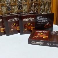 Dark Chocolate Compound / Cokelat Blok / Batangan Marley; isi 250 gram