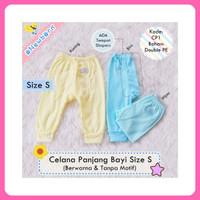 Celana Panjang Bayi Newborn Polos Warna ada tempat diapers Murah