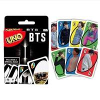 Uno x BTS Card Games Mainan Kartu untuk Anak dan Dewasa
