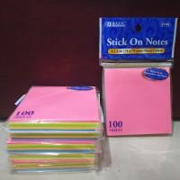 Post It Note / Postit Sticky Note Notes Merek Bazic Catatan Memo