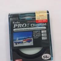 Uv filter Kenko Pro1. 58mm